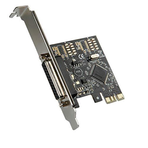 Roline PCI-Express Adapter, 1x Parallel ECP/EPP Tarjeta y Adaptador de Interfaz - Accesorio (1x Parallel ECP/EPP, PCIe, 1,5 Mbit/s, PC, Alámbrico, Windows 95/98SE/NT 4.0/ME/2000/XP)
