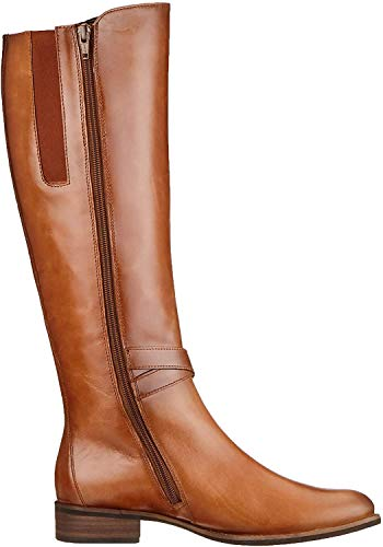 Gabor Shoes Damen Fashion Hohe Stiefel, Braun (Whisky (Effekt) 24), 43 EU