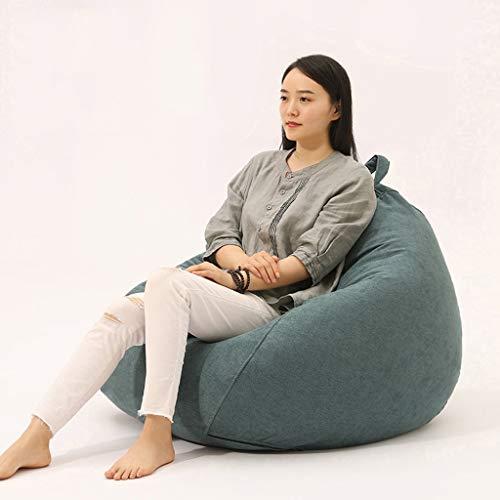 Canapé Paresseux Bean Bag Sofa-fauteuil voor volwassenen, met super zachte zak, binnenliggend, vulling van hoogwaardige milieuvriendelijke deeltjes A06