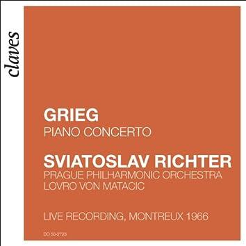 Grieg: Piano Concerto Op. 16 (Live Recording, Montreux 1966)
