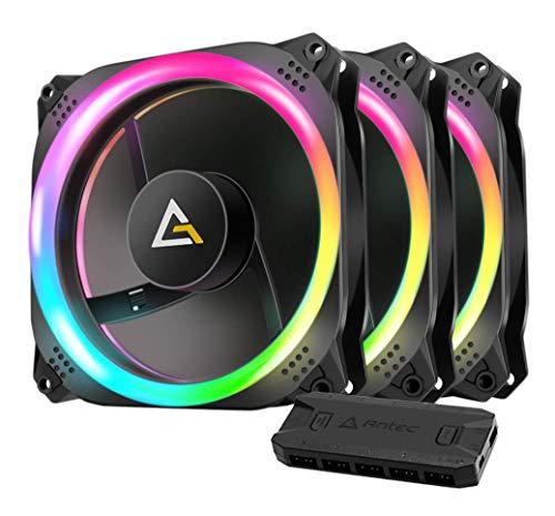 Antec Prizm 120 ARGB 3+2+C Carcasa del Ordenador Ventilador - Ventilador de PC (Carcasa del Ordenador, Ventilador, 12 cm, 2000 RPM, 32,6 dB, 45,03 cfm)