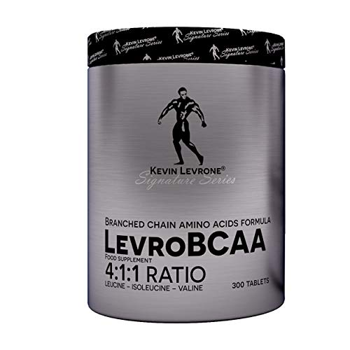 Kevin Levrone LevroBCAA 4:1:1 Ratio Package of 1 x 300 Tablets – Blanched Chain Amino Acid Formula – Muscle Regeneration – Leucine – Isoleucine – Valine