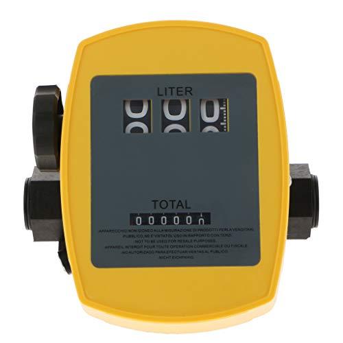 FLAMEER Débitmètre de Pompe à Carburant 20L-120L/ Min