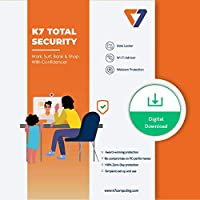 K7 Total Security - 1 PC's, 1 Year+ Additional 06 Month extra validity (Email Delivery in 2 hours - No CD)