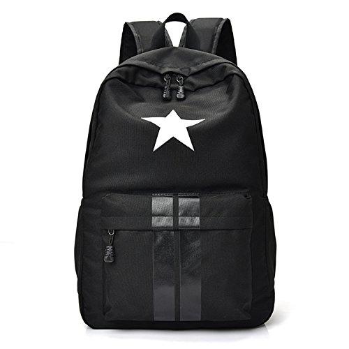 Outreo Zaino Vintage Borsa Borsello Uomo Borsa Scuola università Laptop Backpack per Studenti Sacchetto Ragazza Sportive Outdoor Zaini Sport Borse Viaggio Donna Tasca Nylon