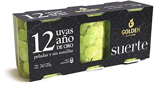 GOLDEN Uvas de La Suerte, 3 x 120g