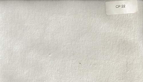 Blanc des Vosges Molleton 220gr/m² imperméable Alèze Housse avec 4 Têtes, Coton, Blanc, 140x190 cm