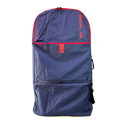 SOLA Surge Bodyboard Bag Boardbag, Unisex, Azul Marino, 114 x 59 x 7.5cm