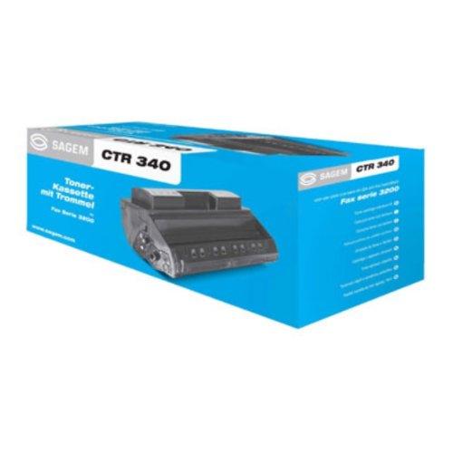 Sagem Laser Fax Toner Cartridge Black Original Negro - Tóner para impresoras láser (5000 páginas, Negro)
