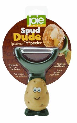 MSC International Joie Dude Schäler im Kartoffeldesign 1 EA Grün, Hellbraun