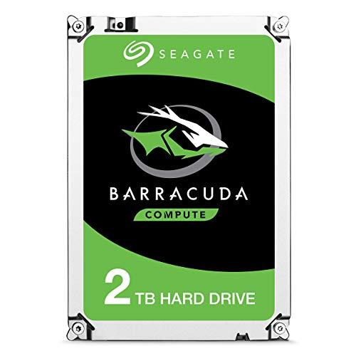 Seagate BarraCuda 2TB interne Festplatte HDD - 2,5 Zoll SATA 6Gb/s 5400RPM 128MB Cache für PC Laptop (ST2000LM015) (Renewed)