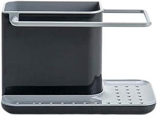 Rangement de ustensiles de cuisine Évier Porte-éponge Organiseur de rangement Évier de cuisine Porte-ustensiles pour évier...