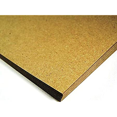 50 Perfect for Craft Projects and for Designing Individual Postcard A6 280gsm Kraft Card Blank Postcards