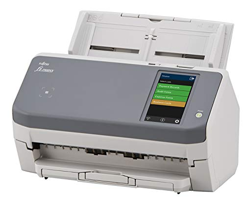 Fujitsu fi-7300NX Professional Network Enabled Document Scanner with Color Touchscreen