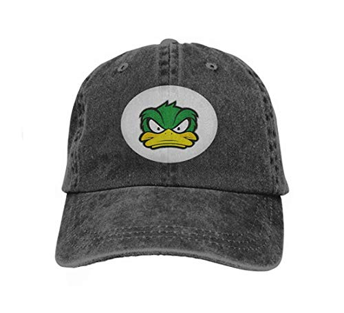 Unisex Baseball Cap Trucker Hat Adult Cowboy Hat Hip Hop Snapback Angry Duck Mascot Clipart Picture Cartoon Logo Character Variegated Cool2799