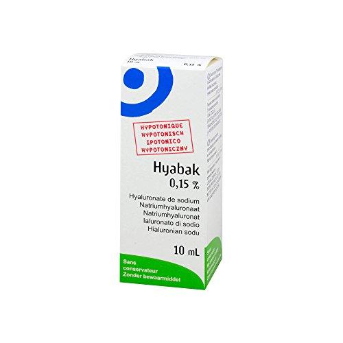 Hyabak Augentropfen, 10 ml