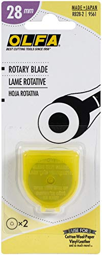 OLFA 9561 RB28-2 28mm Rotary Blade, 2-Pack