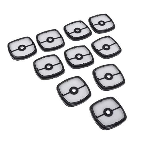 MERIGLARE Filtro de Aire de 10 Piezas para Echo13031054130 Buen Ventilador de Cortadora de Césped