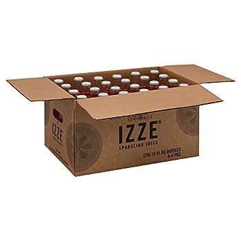 Izze Grapefruit Sparkling Juice 12 Fl Oz  Pack of 24