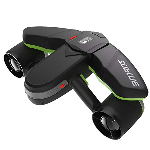 WINDEK SUBLUE Seabow Smart Underwater Scooter with Action Camera Mount OLED Display 40M Waterproof...
