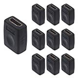 VCE 10 Pack HDMI Coupler HDMI Female to Female...