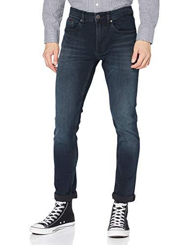 Tommy Jeans Herren SLIM TAPERED STEVE COBCO Slim Jeans, Blau (Cobble Black Comfort 911), W30/L36