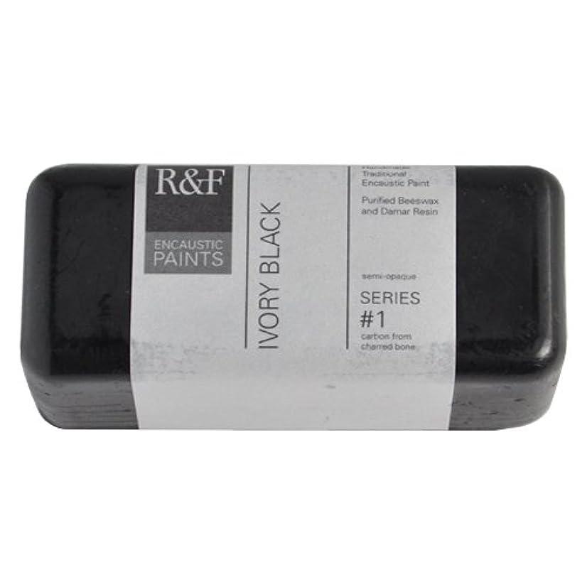 R&F Encaustic 104ml Paint, Ivory Black