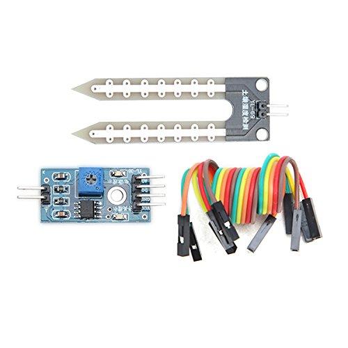 ILS. - Igrometro Terreno Modulo Rilevazione umidità Sensore per Arduino (1 Pezzo