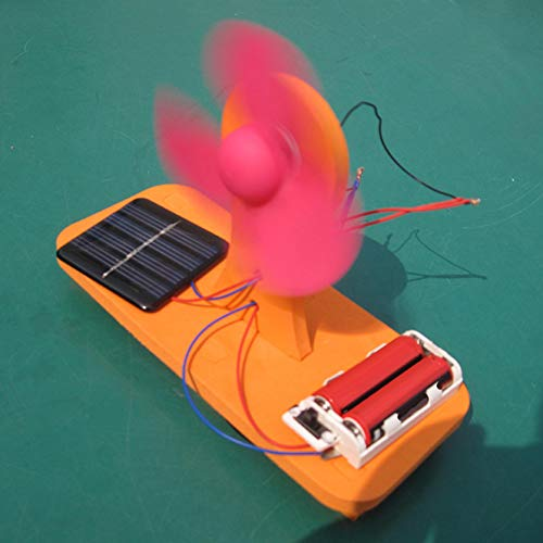 Brave669 Learning & Education Toys, Teenagers Solar Powered Fan Toy Competition Experiment Science Teaching Model,Best Gift for Your Child