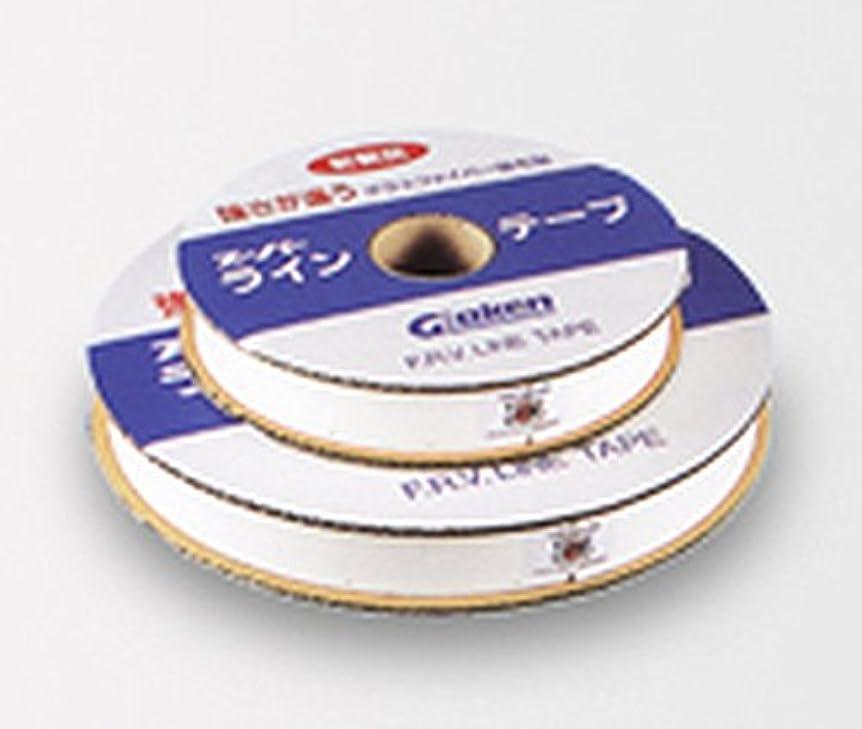 感度火山学者火曜日スーパーラインテープ中川くん 50mm×150M 釘穴6cm間隔 専用釘付き
