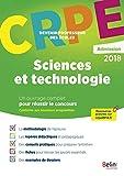 Sciences et technologies: Epreuve orale d'admission CRPE