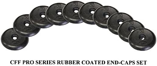 CFF 10 Pack Pro Style Dumbbell Rubber End Cap