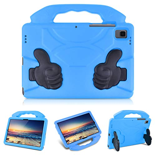 KATUMO Case for Samsung Galaxy Tab A7 10.4' 2020 Model (SM-T500/T505/T507) with Lightweight Handle,Shockproof EVA Built-in Folding Kickstand Kids Cover for Galaxy Tab A 10.4 inch ,Blue