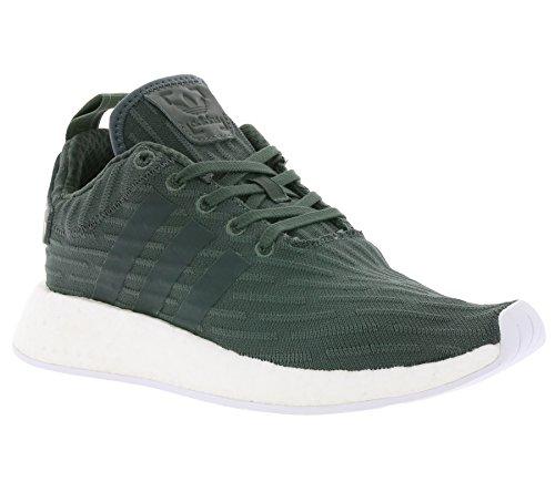 adidas NMD R2 W Damen Schuhe Turnschuhe Sneaker grün BA7261 NEU & OVP Gr. 40 2/3
