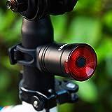 テールライト 自転車 [2020最新版] 自動点灯/消灯 スマートブレーキ警告 テールランプ ロードバイク 6種モード USB充電式 長時間連続点灯 防水 日本語説明書 リアライト (シートポストマウント)