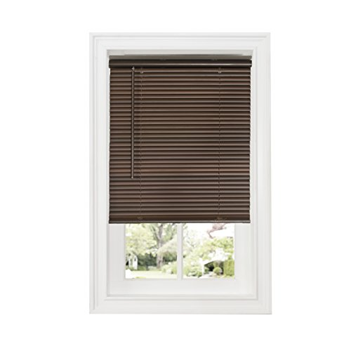 Achim Home Furnishings DSG229MH06 Cordless GII Deluxe Sundown 1' Room Darkening Mini Blind, Mahogany, 29' x 64'
