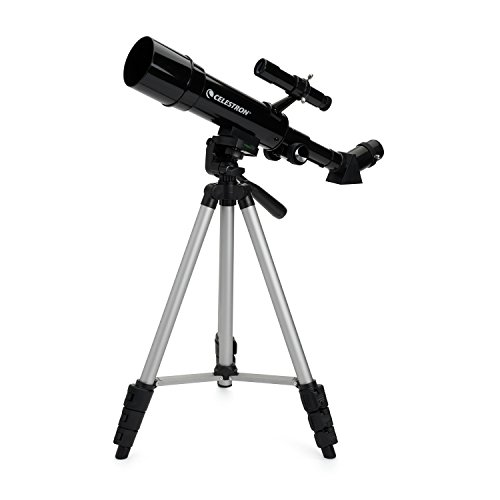Celestron Travel Scope 50 - Telescopio portable con ampliación de 18x