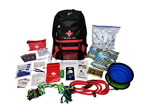 Pet Evac Pak Big Dog Emergency Survival Kit - 72 hour emergency kit for pets
