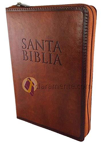 Compare Textbook Prices for Biblia Letra Grande con Cierre, tamaño manual, Reina-Valera 1960, imitación piel, café con índice  ISBN 9781535904513 by Broadman and Holman