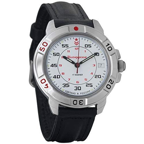Vostok / Wostok Komandirskie 2414 431171 Russisches Militär Mechanische Uhr