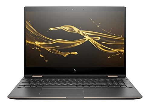 NEW 2018 HP Spectre x360 2-in-1 15.6' 4K UHD Touch-Screen Laptop - Intel i7-8550U, 16GB DDR4, 512GB PCI-e SSD, NVIDIA 2GB GDDR5 MX150, Thunderbolt-Bang & Olufsen Audio, HP Stylus, Dark Ash Silver