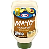 Kraft Mayo Avocado Oil Mayonnaise (22 oz Bottle)