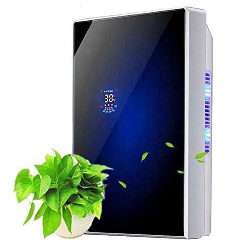 Deumidificatore d'Aria Mini Compatto, Silenzioso E Portatile, 1500ml 220v, per Muffa E umidità, Filtro Asciugatrice Climatizzatore Deumidificante Desecante Ventilatore,Blue