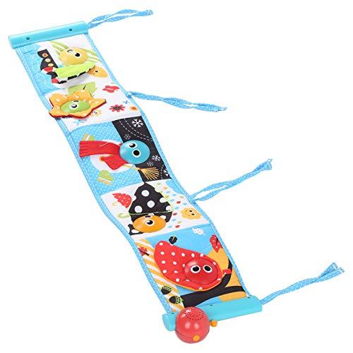 Livros para bebês, livros educativos coloridos e macios operados por pilhas, eletrônicos para bebês de 0 a 3 anos de idade para educação precoce para bebês