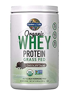 Garden of Life, Organic Whey Protein Grass Fed, Chocolate Cacao, 14.03 oz (397.5 g) from Garden of Life