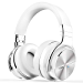 COWIN E7 PRO [Upgraded] Active Noise Cancelling Headphones Bluetooth Headphones with Microphone Wireless Headphones Over Ear - White (Renewed)