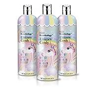 Baylis & Harding Beauticology Unicorn Candy Shower & Bath Bubbles 500ml, Pack of 3