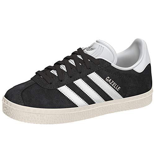 adidas Gazelle, Zapatillas Unisex Niños, Gris (Dgh Solid Grey/Ftwr White/Gold Metallic), 32 EU