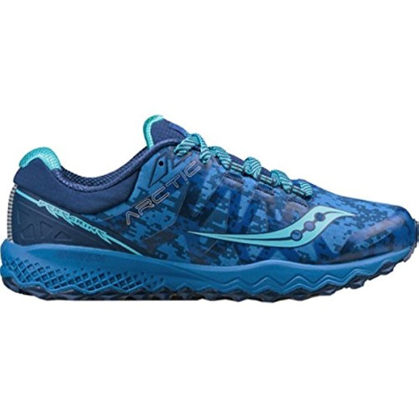 フォーマル代替戦争(サッカニー) Saucony レディース ランニング?ウォーキング シューズ?靴 Peregrine 7 ICE+ Trail Running Shoe [並行輸入品]