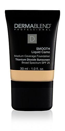 Dermablend Smooth Liquid Foundation with SPF 25, 10N Cream, 1 Fl. Oz.